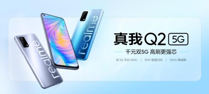 Ponsel Realme Q2, Q2 Pro, dan Q2i 5G diluncurkan di Cina dengan harga mulai 998 Yuan