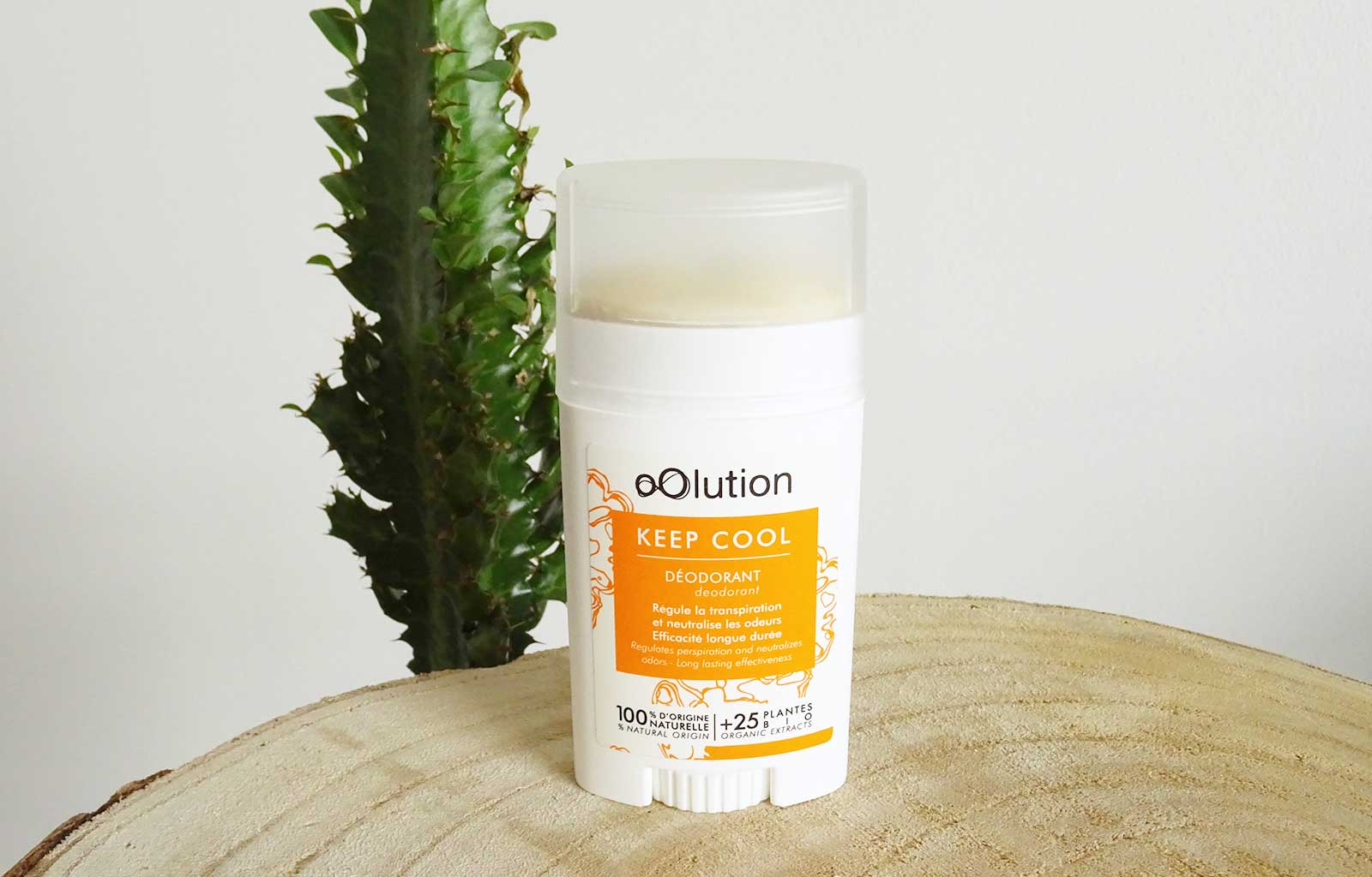 déodorant keep cool oolution