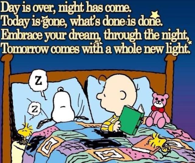 Stop worrying - go to sleep! New day tomorrow!
