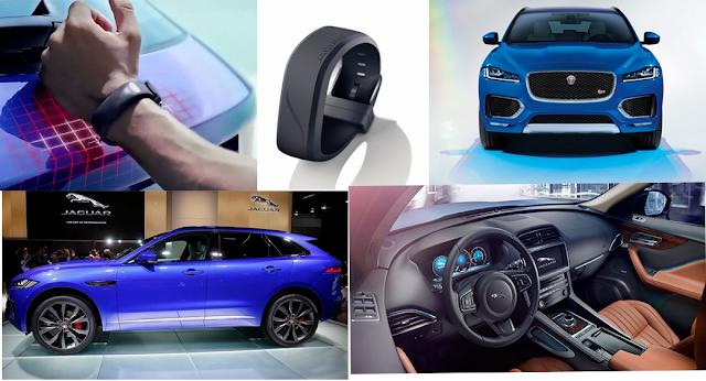 Perangkat Weareble Di Mobil Jaguar Terbaru