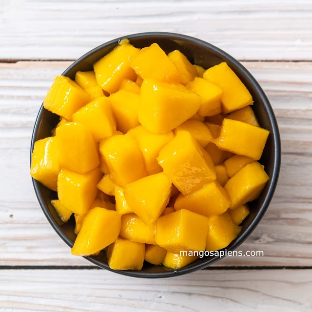 Sweet-Salty-Tangy Mango salad
