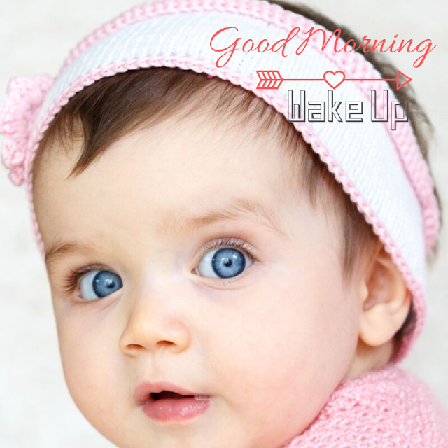 Happy cute Baby good Morning images