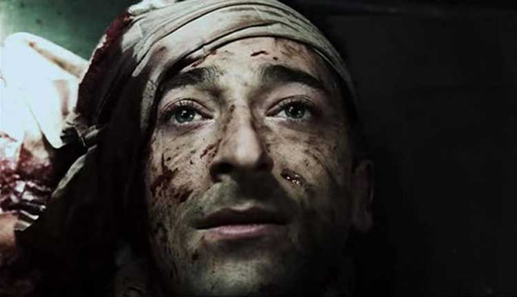 Adrien Brody is locked up with The Jacket.