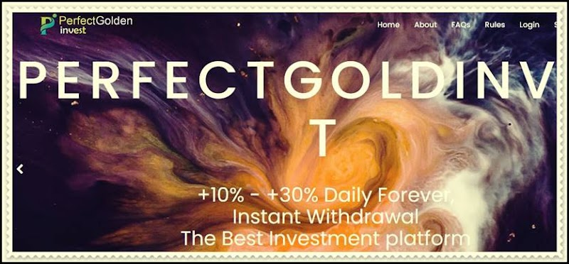 Мошеннический сайт perfectgoldinvest.com – Отзывы, развод, платит или лохотрон? Мошенники