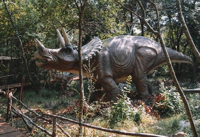 Jurassic Park, Park Dinozaurów, Funtana, Croatia