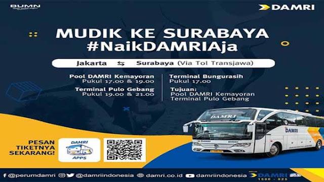 Damri Jakarta Surabaya: Harga Tiket & Jadwal Keberangkatan