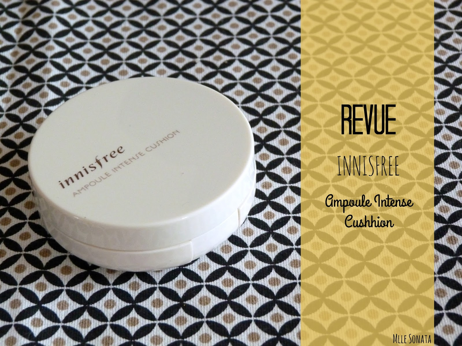 Ampoule Intense Cushion de Innisfree ouvert