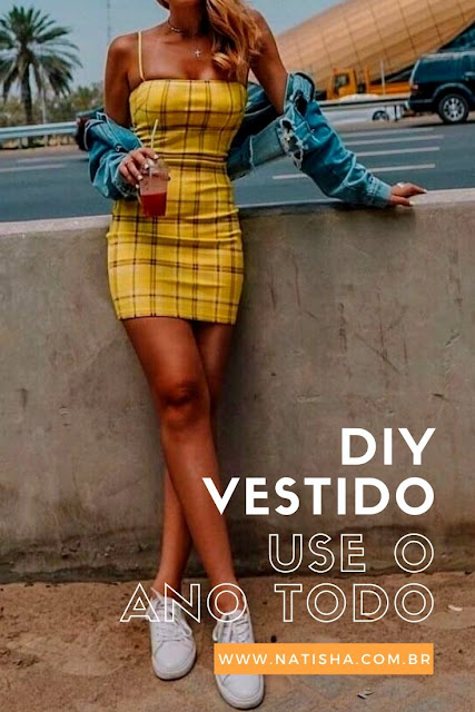 DIY - VESTIDO TUBINHO