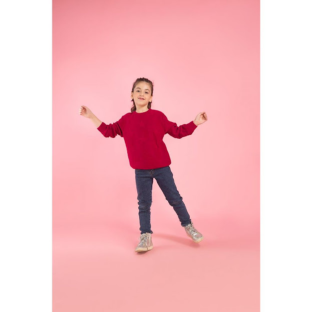 kids winter collection hot pink sweater