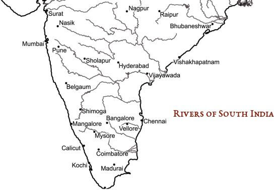 Rivers & Cities of South India