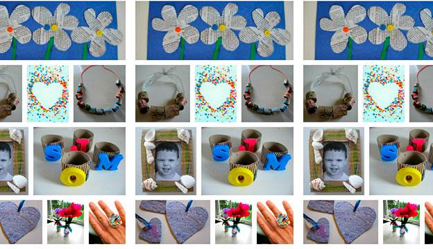 manualidades para el día de la madre con material reciclable
