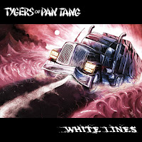 "Το single των Tygers Of Pan Tang ""White Lines"""