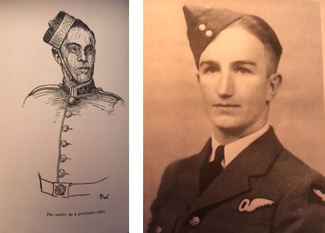 Left: Portrait of John Winsor, Windsor, John (1963). Blind Date. Sidney, BC: Gray's Publishing Canada, p.2; Right: Hamilton, Neil R. (2000). Wings of Courage: A Lifetime of Triumph over Adversity. Calgary: Nacelles, p. 1
