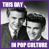 "The Everly Brothers' song, ""Wake Up Little Susie"" became the duo's first #1 hit on October 14, 1957."