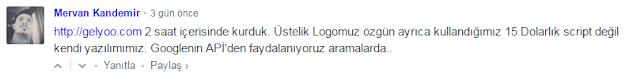 Mervan Kandemir, Webtekno.com'da yaptığı yorum
