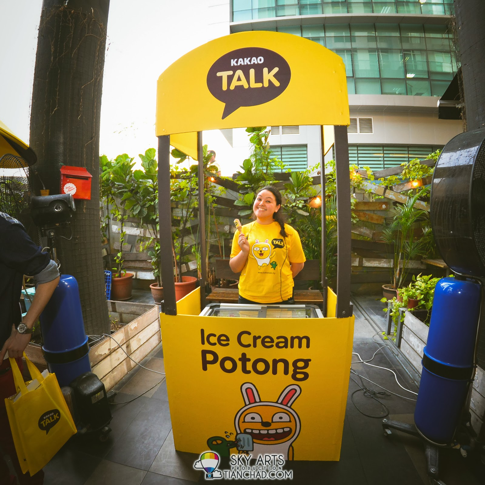 Ice-cream Potong @ KakaoTalk Malaysia Epic Launch , The Bee Publika