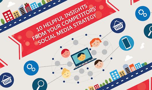 10 Things To Learn From Your Competitors' Social Media Marketing Strategy - #infographic