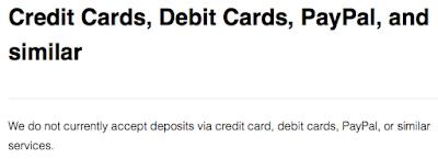 криптобиржа кракен не принимает кредитные карты и PayPal