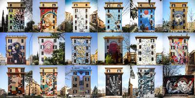 """Visita guidata ai Murales di Tor Marancia - """"Big City Life"""": un progetto corale di arte urbana partecipata"""
