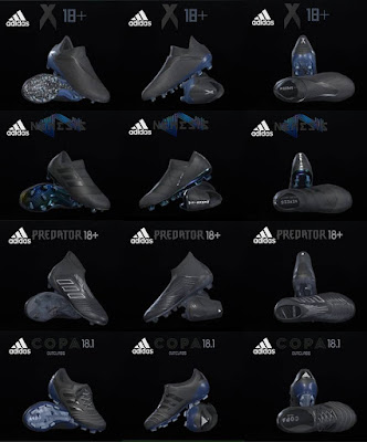 PES 2018 / PES 2017 Adidas Shadow Pack 2018 by Tisera09