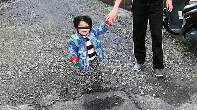 Bocah Jepang Terlihat Melayang Tanpa Kaki di Foto, Ternyata...