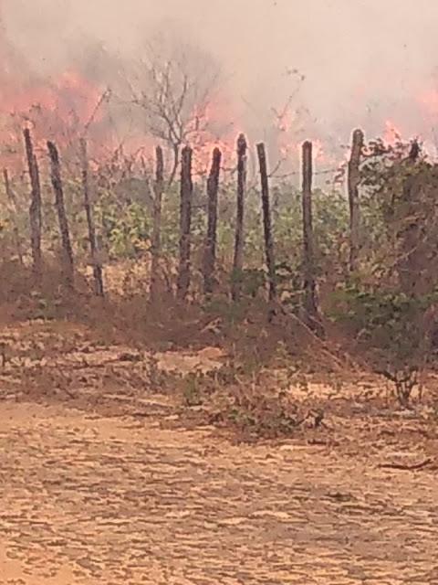 Resultado de imagem para incendio no Conjunto colina do alvorada em parnaíba