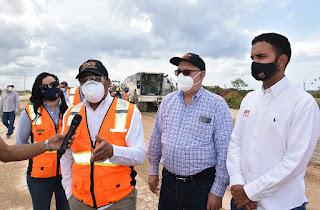 MOPC reanuda trabajos de construcción y ampliaciónde la avenida Ecológica