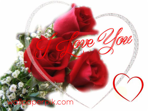 i love you images heart flower wallpapers for love