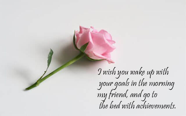 Images of Good Night with Flowers for Friend with Quotes