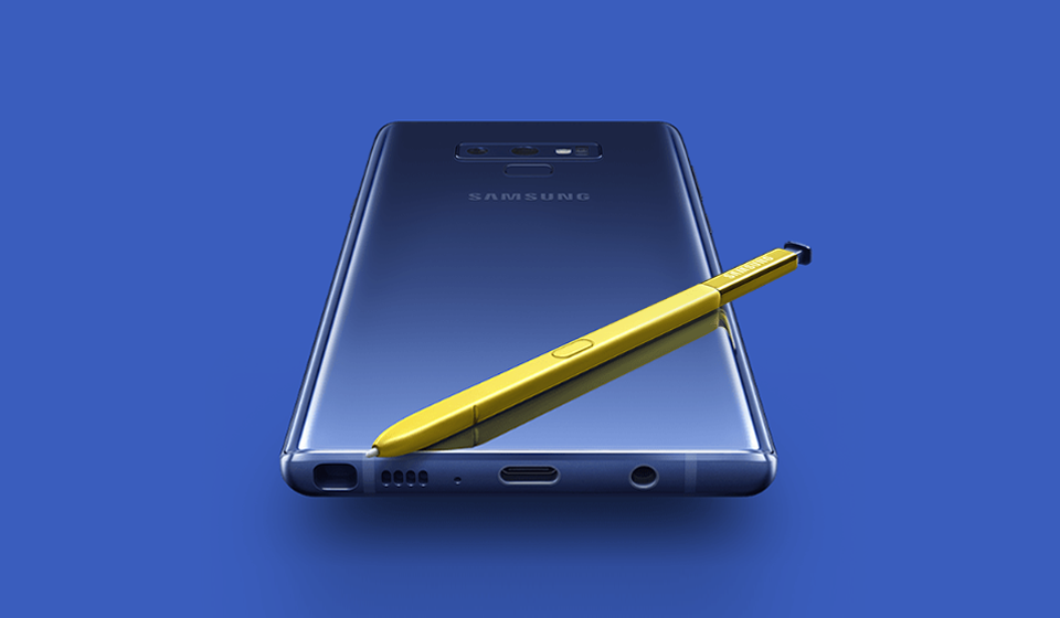 The awesome Samsung Galaxy Note 9