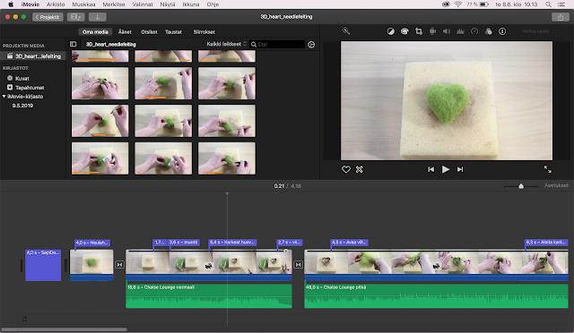 iMovie video