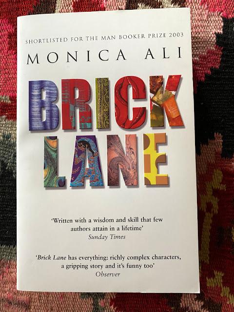 Brick Lane. Monica Ali. London. Book cover
