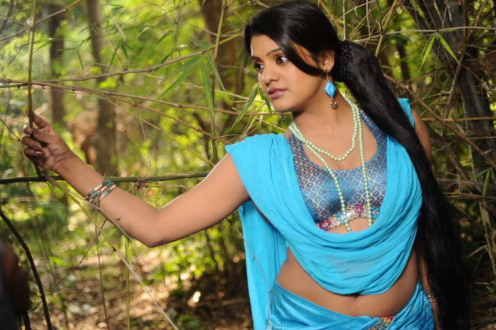 Pretty Thashu kaushik latest hot blue dress exclusive images