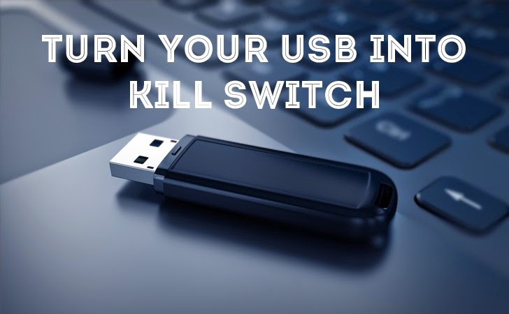 USBKill — Code That Kills Computers Before They Examine USBs for Secrets
