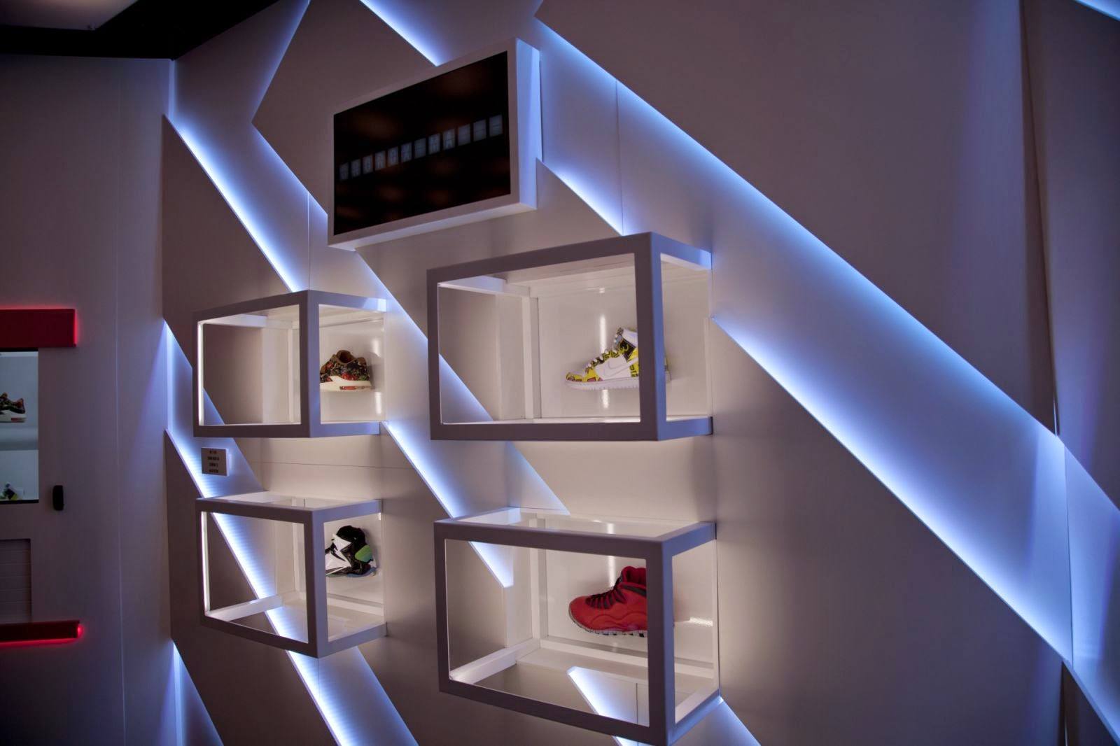 Nike Zoom City SNKRS STATION, pop up store, Nueva York