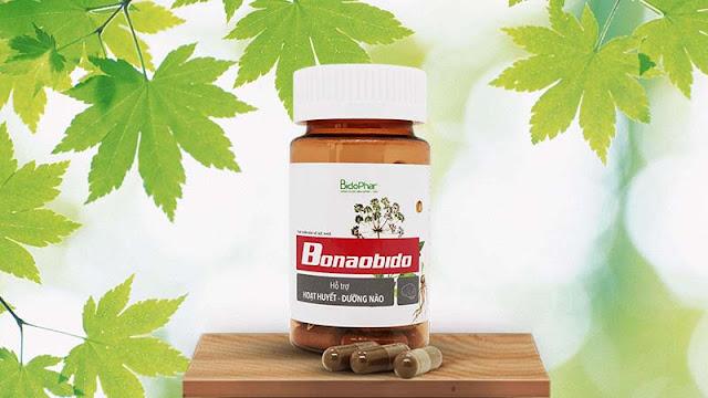 Bonaobido- Sản phẩm hỗ trợ điều trị rối loạn tiền đình được nhiều khách hàng tin dùng