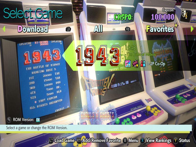 Download Capcom Arcade Stadium Game Setup Exe
