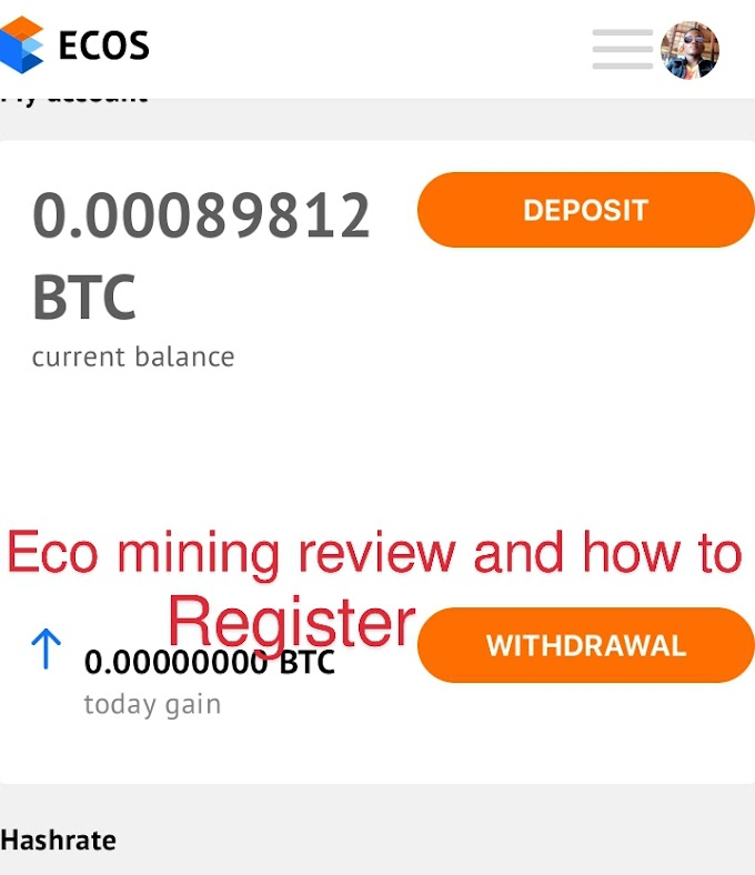 Eco mining review and how to register