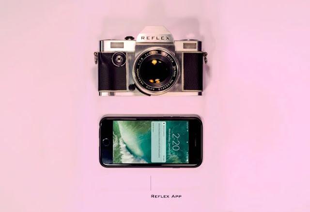 Scambio di dati EXIF tra la fotocamera analogica Reflex e uno smartphone