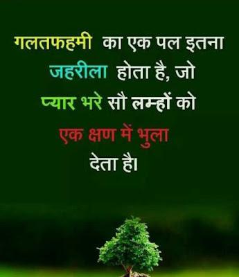 Galat Fehmi Ka Ek Pal Itna Jahrila Hota Hai Hindi Shayari