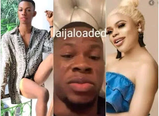 Arrest Me Before I Kill Bobrisky And James Brown  Angry Lagos Socialite Provokes