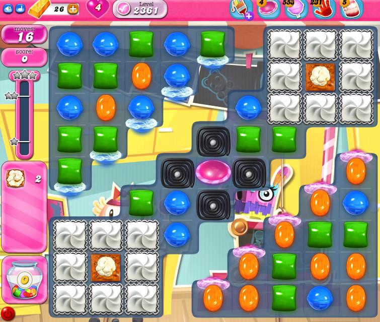 Candy Crush Saga level 2361