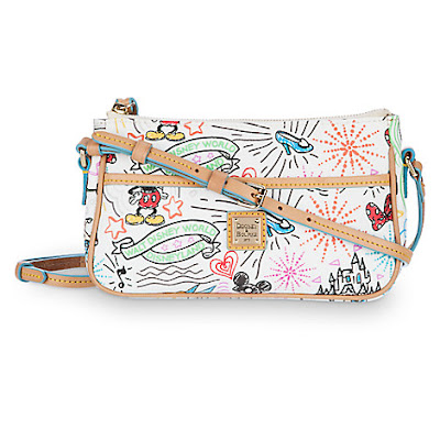 Disney Sketch Pouchette by Dooney & Bourke, Holiday Gift Guide for Disney Moms