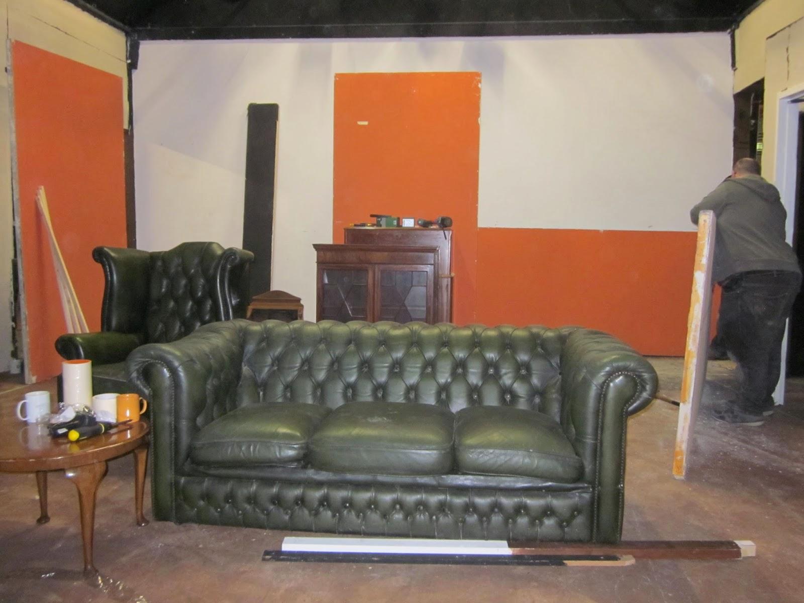 Progress Theatre: Gaslight fireplace