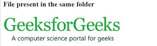 menampilkan gambar dari satu folder yang sama pada laman html menggunakan file path
