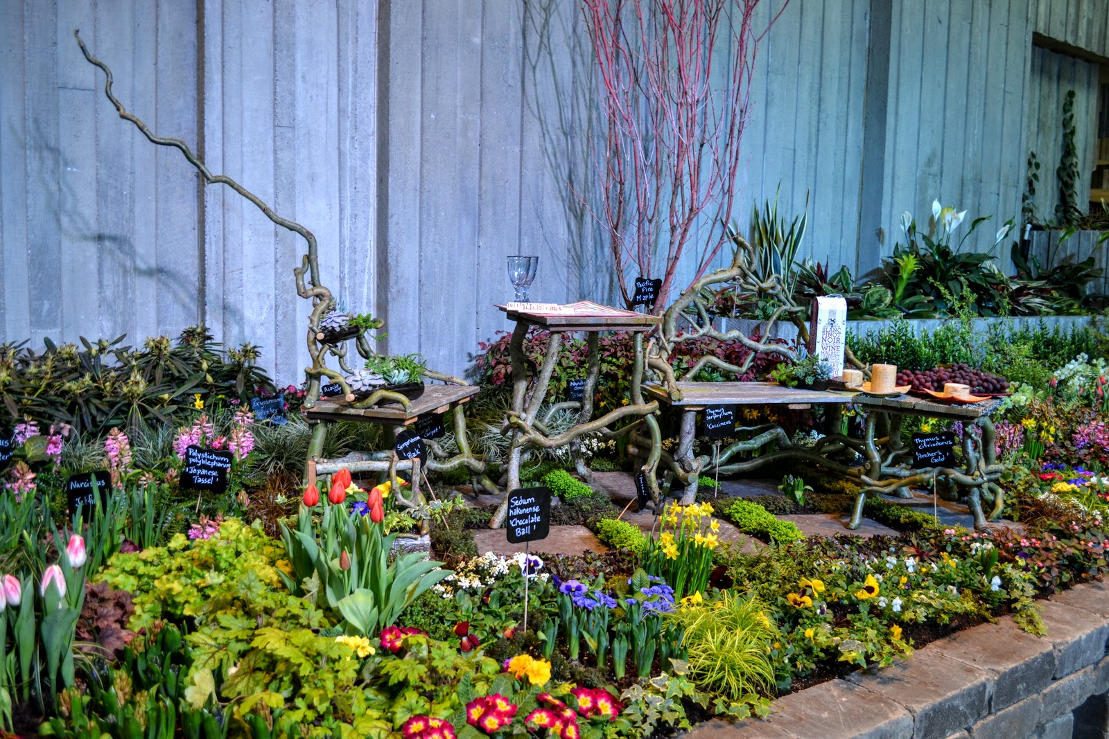 northwest flower garden festival and terra firma hardscapes 2018 theme garden - Northwest Flower And Garden Show