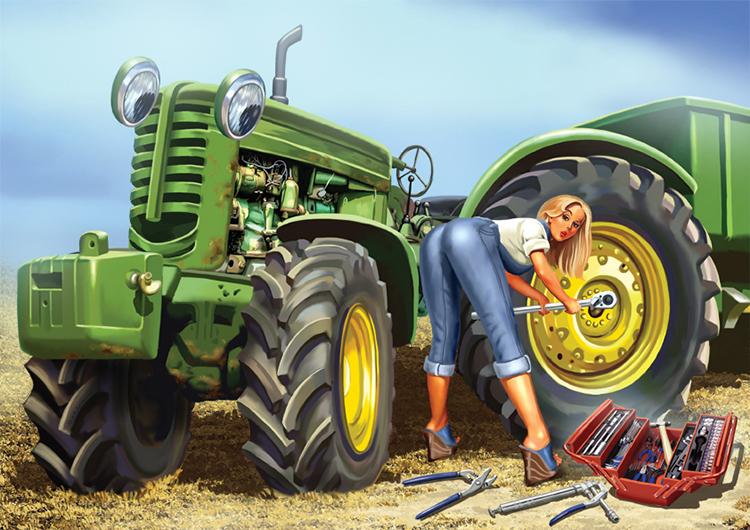 Российская сельскохозяйственная техника за рубежом – не роскошь, роскошь – запчасти к ней