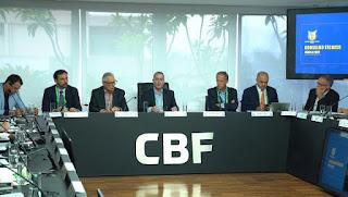 CBF suspende competições nacionais