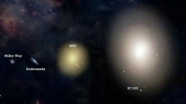The largest Known galaxy in the universe