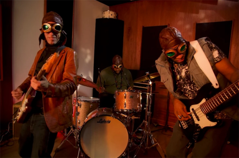 """Captain Danger and the pop rock, funky embrace of """"Holly"""" (Official Video)"""